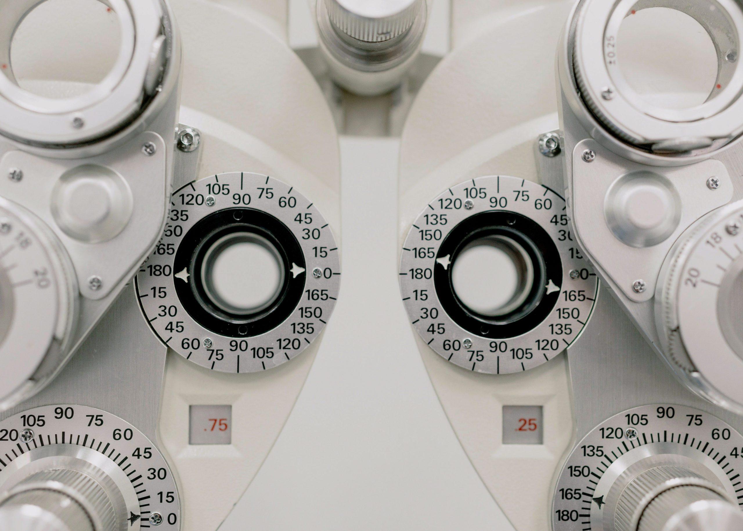 image une machine pour les examens de vue